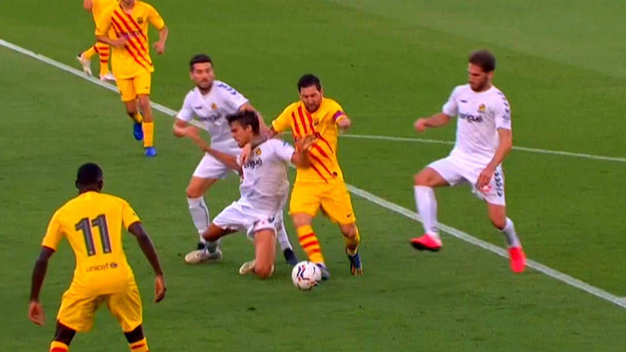 Lionel Messi RETURN for Barcelona against Gimnastic 2020