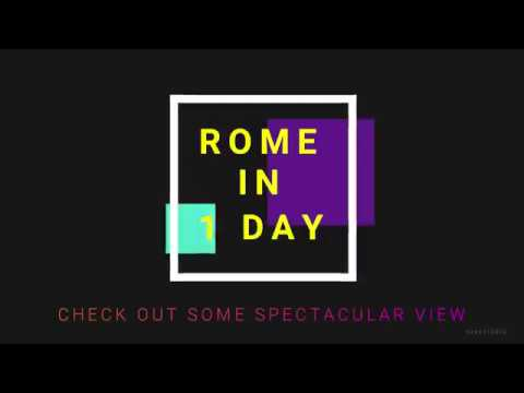Walking Tour Of Rome In 1 Day! (DO's And DONT's, Info, Ticket Links)