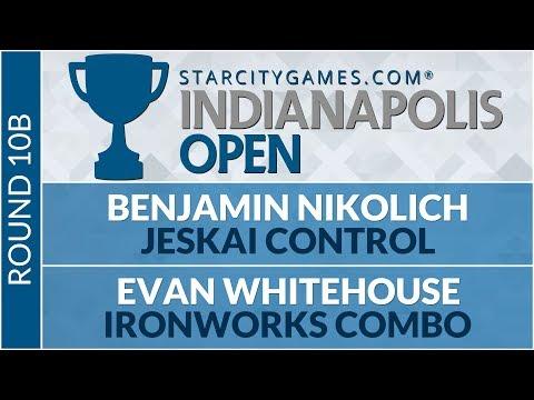 SCGINDY - Round 10b - Benjamin Nikolich vs Evan Whitehouse [Modern]