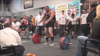 New ALL Time  World Record Squat and total 2028lbs 920kg @90kg Ernie Lilliebridge JR