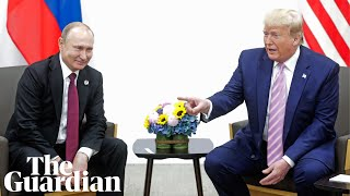 Trump tells Putin: don't meddle in the US presidential election