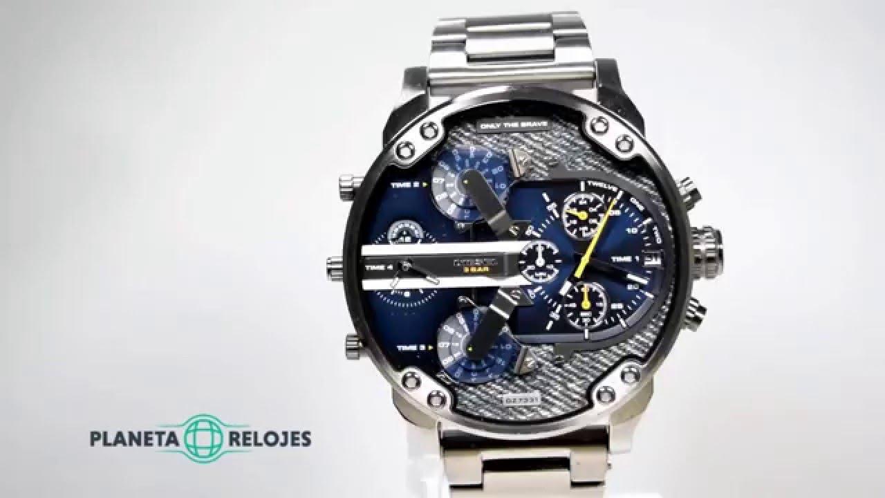 Reloj diesel dz7331 youtube - Relojes rusticos de pared ...