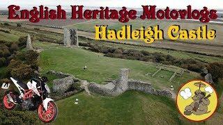 English Heritage Motovlogs - Hadleigh Castle