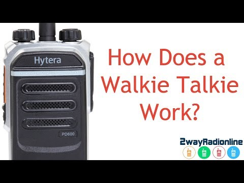 Simple Guide To How Does Walkie Talkie Work