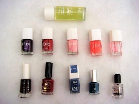 la coloration de vernis � ongles ou les produits cosm�tiques ongles verts décoloration des ongles
