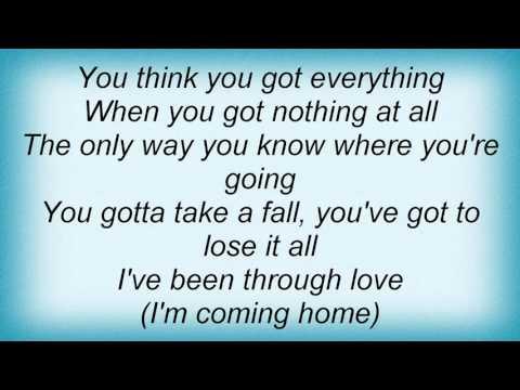 Lionel Richie - I'm Coming Home Lyrics