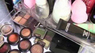 Makeup Collection Storage & Organization | SHLINDA1