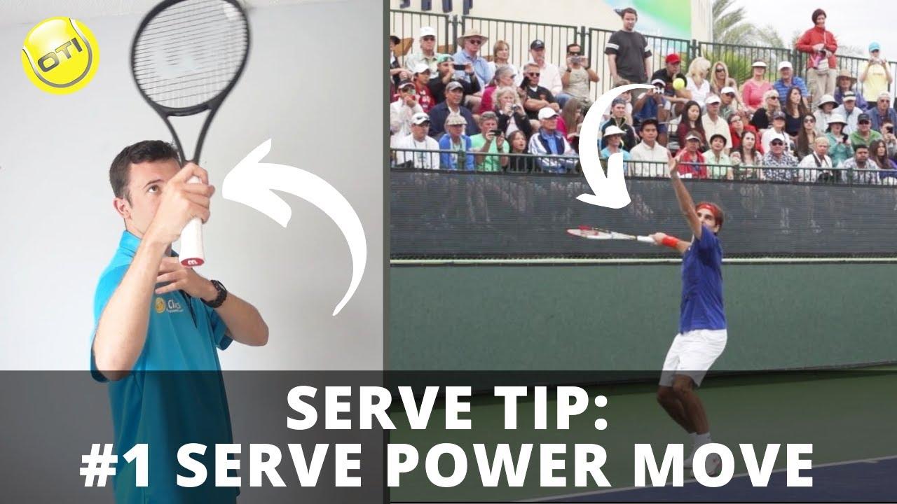 Serve Tip: The #1 Move For Effortless Serve Power