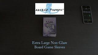 Arcane Tinmen - Extra Large Non-Glare Board Game Sleeves