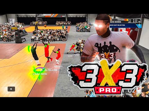Duke Dennis and Poorboysin play the 3v3 EVENT! BEST BUILD ON NBA 2K19! My jumpshot is ALL GREEN