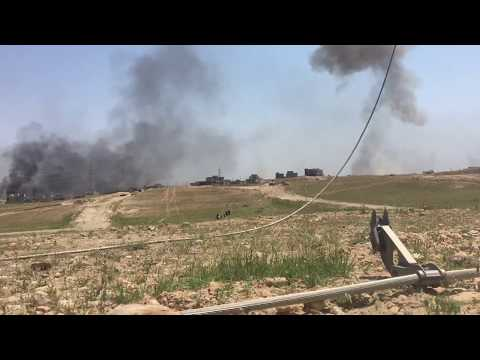 An ISIS Car Bomb Goes off During the Invasion of Mosul