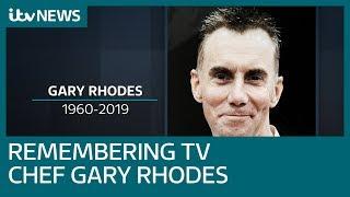'Gent and genius': TV chef Gary Rhodes dies aged 59 in Dubai   ITV News