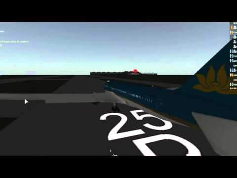 ROBLOX Vietnam Airlines 787 Flight
