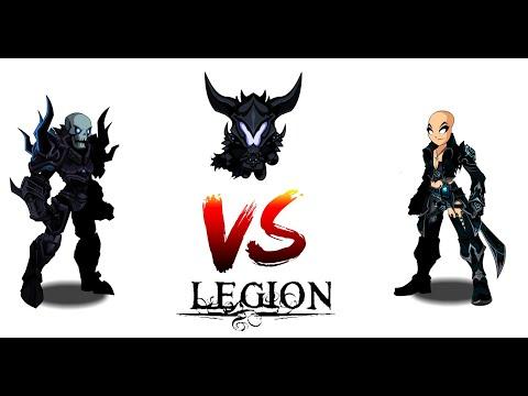AQW Legion Doomknight VS Infinity Legion Dark Caster - Solo/Farm/Ultraboss