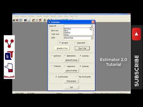 Preparing Estimates Estimator 2.0 How To Prepare A Building  Estimator 2.0  Lesson 13