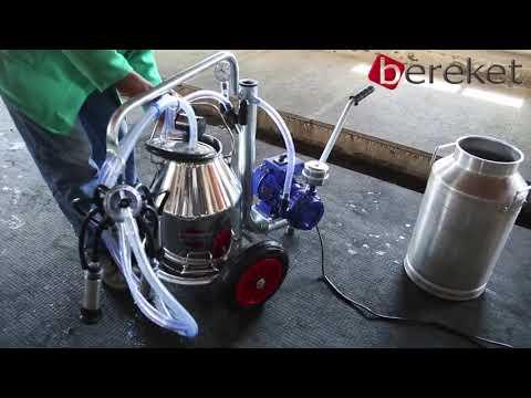 Good Quality Single Bucket Trolley  Milking Machine(Krishna Industries)