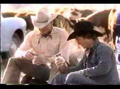 Head For The Mountains Of Busch 80's Commercial