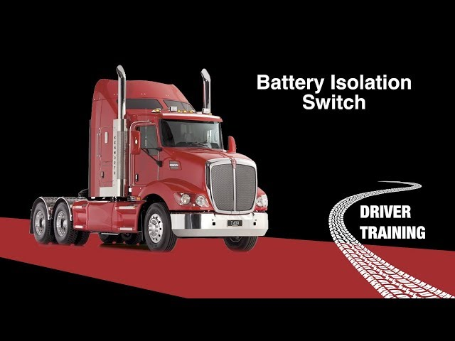 Kenworth T409 Master Switch