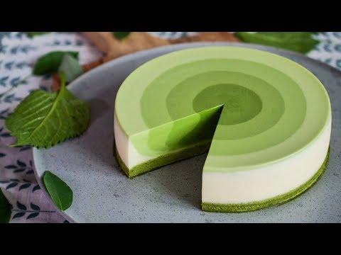 [Eng Sub]Matcha mousse cake 我Amanda带着既美又作的抹茶甜点又来了!【曼食慢语】*4K