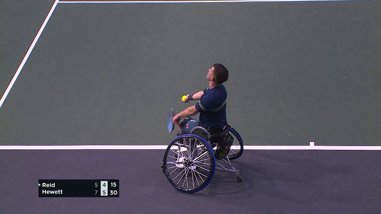 2021 ABN AMRO World Wheelchair Tennis Final highlights: Hewett (GBR) v Reid (GBR)
