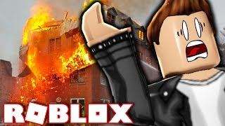 MY HOTEL IS ON FIRE?! (Roblox)