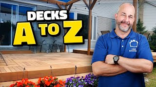 How to Build a Pergola and Floating Hardwood Deck A to Z