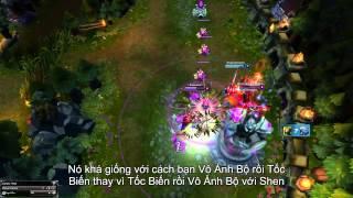 [LMHT] - Mẹo chơi sử dụng nộ long cước và tốc biến của Leesin