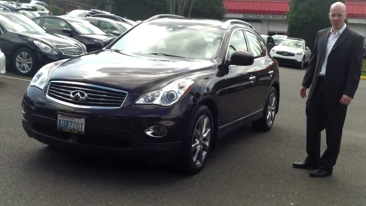 2010 infiniti ex35 review who knew brown would be such a. Black Bedroom Furniture Sets. Home Design Ideas
