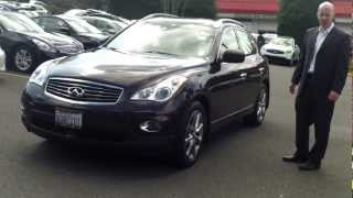 2010 Infiniti EX35 review  - Who knew Brown would be such a popular interior color?