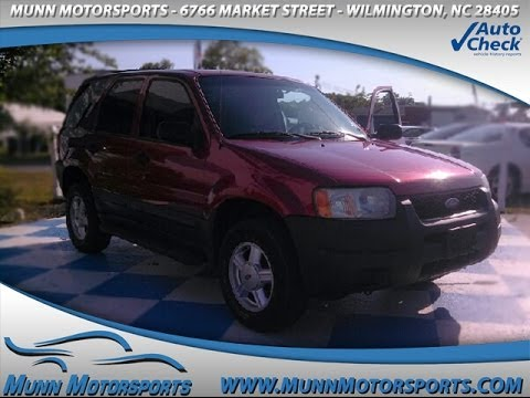 2004 Ford Escape XLS Value for sale in WILMINGTON, NC 28405
