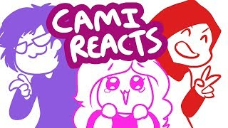 "CAMI REACTS  TO ""MEGALOMANIAC - RE ANIMATED VERSION"""