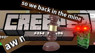 Trying To Sing Revenge (Creeper, aw man) In A Roblox Court Room