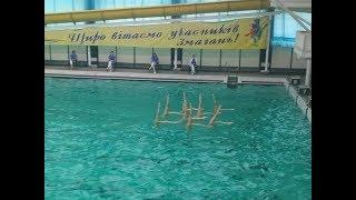 видео Международные соревнования по синхронному плаванию «Русская матрешка» стартовали в Чехове