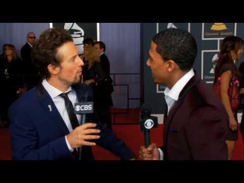 52nd Grammy Awards - Jason Mraz Interview