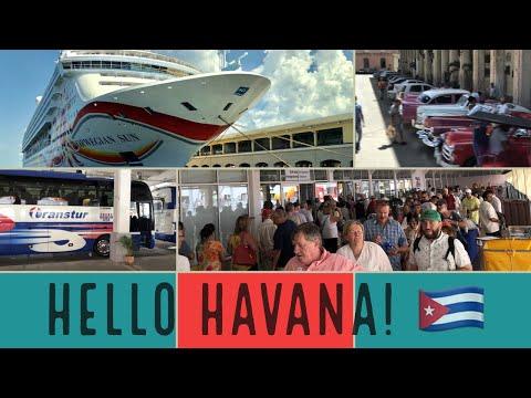 Getting Off a Cruise Ship in Havana, Cuba l CRUISE VLOG l Ep. 11