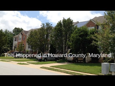This Happened in Howard County, Maryland