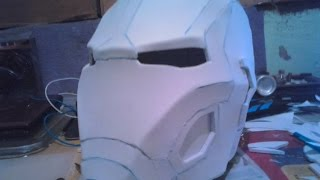 Hacer casco de Iron man (mark 45)