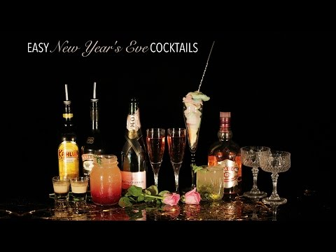 4 Easy New Years Eve Cocktails 🍾 Glamrs