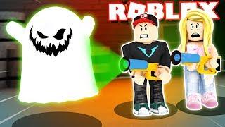 ŁAPIEMY DUCHY W ROBLOX! (Roblox Ghost Simulator) | Vito i Bella