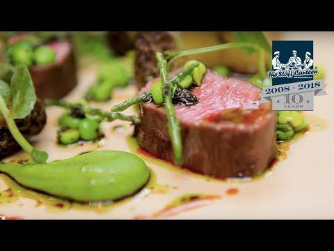 Chef Robby Jenks creates cured salmon, lamb and Crème brûlée  recipes