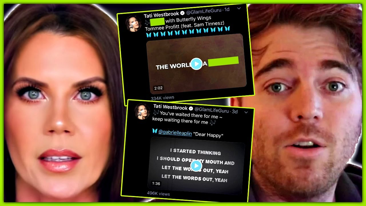 Tati Westbrook Says Shane Dawson 'Manipulated' Her Into 'Bye ...