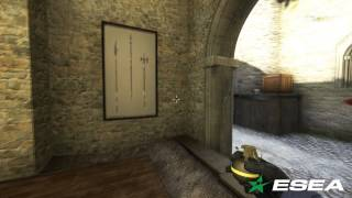 ESEA Intermediate CS: GO - GamerCrewTV Rexplite vs Confusion on de_cbble - Eco Round ACE 5K Frags