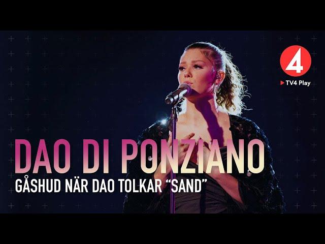 "Dao Di Ponziano - ""Sand"" – Molly Sandén – Idol 2019 - Idol Sverige (TV4)"