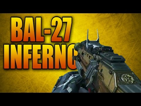 Advanced Warfare Elite Weapons Ep. 3 - Bal-27 Inferno (Call of Duty AW Best Multiplayer Gun Variant)