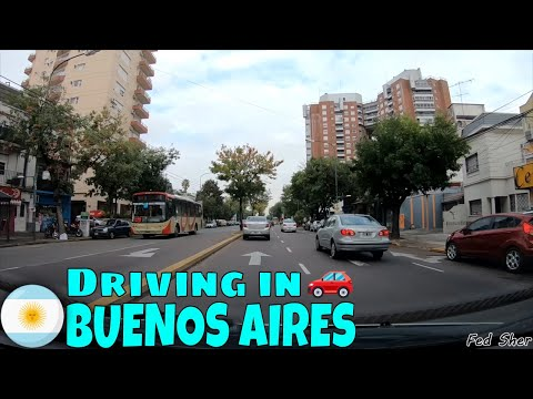 Driving in Buenos Aires (from Béccar to La Lucila)
