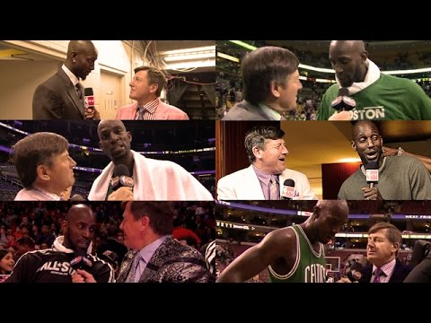 Craig Sager: Top 10 Moments with Kevin Garnett