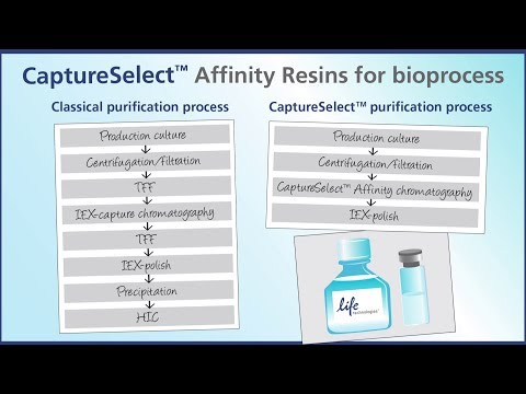 CaptureSelect™ Technology - Powerful Affinity for More Streamlined Purification