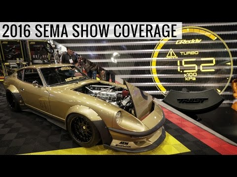 2016 SEMA Show Coverage - All The Top New Parts & The Coolest Cars