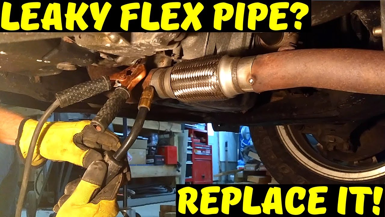 Diy Flex Pipe Replacement On Toyota Camry Youtube