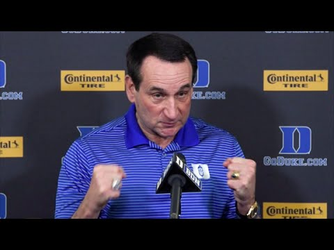 Coach Mike Krzyzewski on the turning point of the championship game